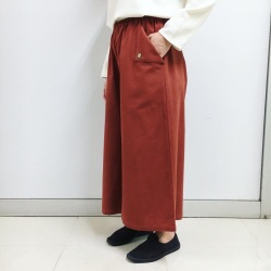 ルクマニ ポケットパンツ